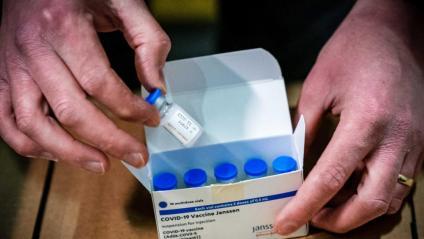 La vacuna Janssen distribuïda  als Països Baixos