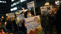Protestes a Pequín contra la decisió del Japó d'abocar les aigües nuclears al mar