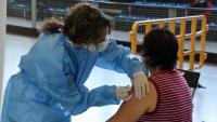 La Seu d'Urgell converteix a partir d'avui la pista polivalent en un nou espai de vacunació massiva