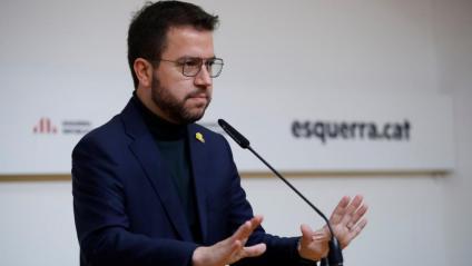 El vicepresident Pere Aragonès