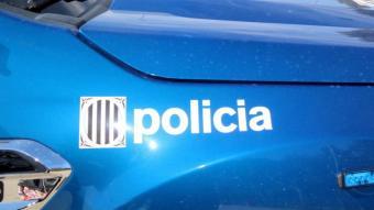 Un vehicle dels mossos