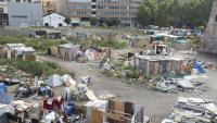 Pla general de l'assentament de barraques desallotjat