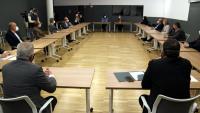 La reunió que el conseller va fer ahir amb empresaris i l'Ajuntament de Tortosa