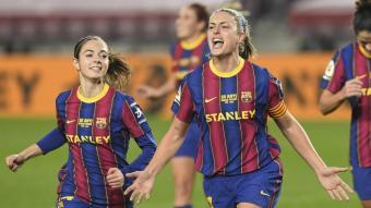 Alèxia Putellas, jugadora del Barça femení.