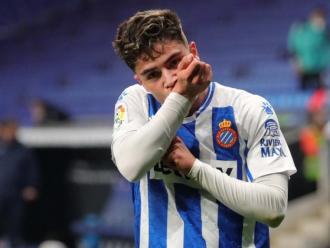 Melamed celebra el gol contra el Leganés