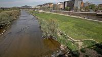 El riu Besòs, on es crearà un refugi biològic