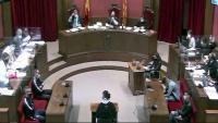 Un moment del judici als quatre acusats de la violació múltiple a Sabadell
