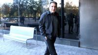Manuel Bustos entrant als jutjats de Sabadell a declarar, l'any 2018