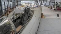 L'hangar on se situa el Museu Aeronàutic de Catalunya, a l'aeroport de Sabadell