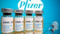 Vials de la vacuna de Pfizer, una de les que ha estat elaborada a partir d'ARNm