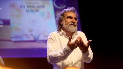 Jordi Cuixart, en la presentació del seu conte infantil al Centre Artesà Tradicionàrius de Gràcia