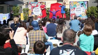 Un espectacle en el festival Món Llibre d'aquest dissabte
