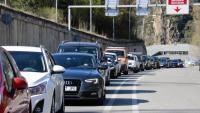 Cues de cotxes per entrar a Andorra