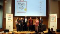 Roda de premsa de la Cambra del Llibre de Catalunya i el Gremi de Floristes de Catalunya
