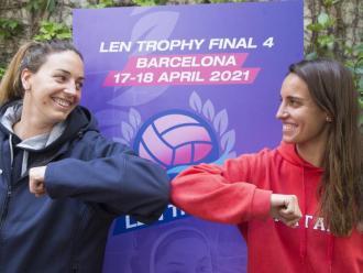 Maica García (CNS) i Anni Espar (CNM) esperen retrobar-se en la final
