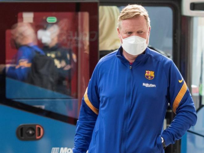 Koeman en arribar a Sevilla