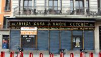 Un local tancat a la Rambla de Barcelona