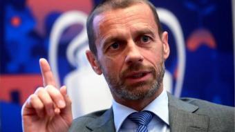 """Ceferin: """"Els jugadors que juguin la Superlliga no jugaran ni el Mundial ni l'Eurocopa"""""""