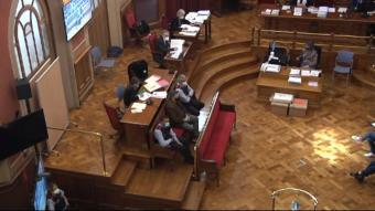 Imatge d'una de les sessions del judici