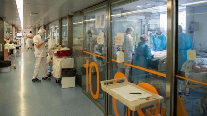Atenció de pacients greus de Covid-19 a l'Hospital Clínic