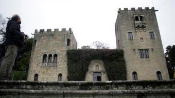 Façana principal del Pazo de Meirás