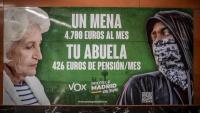 Imatge del cartell que ha originat la polèmica i la denúncia per un possible delicte d'odi