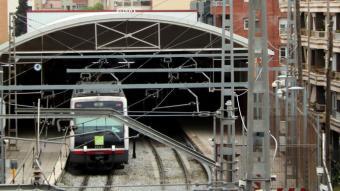 La línia travessa Manresa i es vol fer subterrània