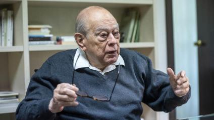 L'expresident de la Generalitat jordi Pujol