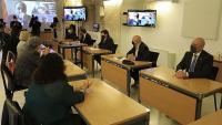 La reunió d'ahir entre representants dels ens locals, la Generalitat i el CILMA