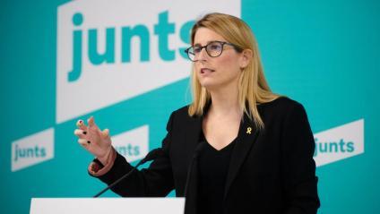 Elsa Artadi (Junts), dilluns després de l'executiva