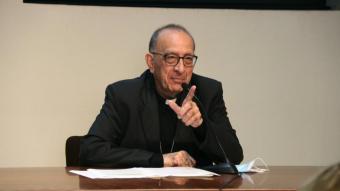 El cardenal Joan Josep Omella