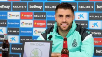 David López, s atisfet de la trajectòria de l'equip
