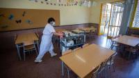 Menjador de l'escola Pompeu Fabra de Lloret de Mar