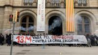 Els estudiants aixequen l'ocupació del rectorat de la UB i convoquen una jornada de vaga pel 13 de maig
