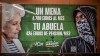 La fiscalia ha denunciat Vox per un delicte d'odi per aquest cartell electoral