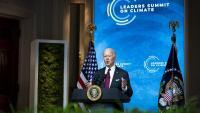 Joe Biden intervé en la Cimera del Clima des de la Casa Blanca
