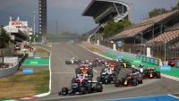 Hamilton encapçala la sortida del GP d'Espanya de l'any passat al Circuit de Barcelona-Catalunya