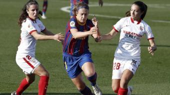 Alèxia Putellas ha marcat el tercer gol del Barça contra el Sevilla