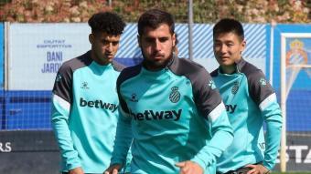 Fran Mérida està concentrat pel partit de dissabte contra el Saragossa.