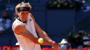 Alexander Zverev s'ha mostrat molt sòlid contra Rafa Nadal