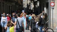 Girona tanca els accessos al Barri Vell després de superar l'aforament màxim de 10.000 visitants per Temps de Flors