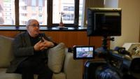 El conseller Bargalló va concedir ahir una entrevista a l'ACN