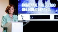 Carmen Calvo, vicepresidenta primera del govern espanyol i ministra de Presidència