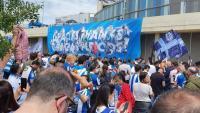 L'Espanyol ha estat rebut per una multitud
