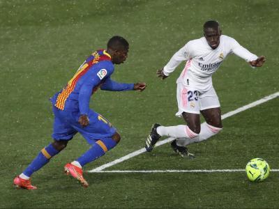 Ousmane Dembélé va jugar el seu últim partit com a titular a Valdebebas