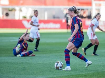 Crnogorcevic, en el partit d'ahir a Sevilla