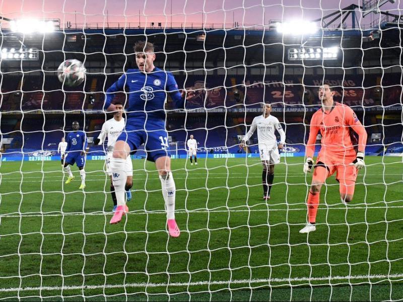 Werner es va avançar a la defensa blanca i va anotar el primer gol