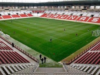 Una imatge de l'estadi de Las Gaunas, on juga la UD Logroñés