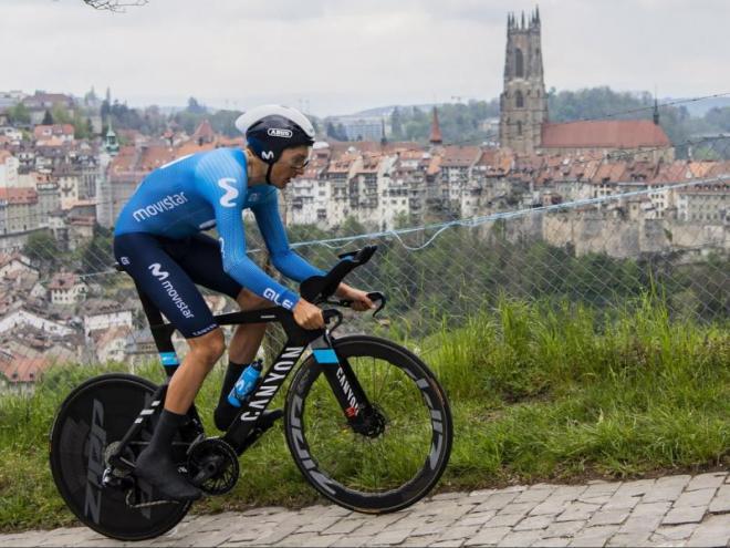 Soler, en el Tour de Romandia.