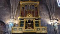 Imatge general de l'orgue un cop acabats els treballs de restauració